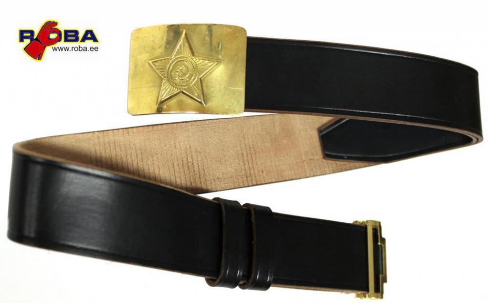 Купить солдатский советский ремень кожаный ремень на резинке женский